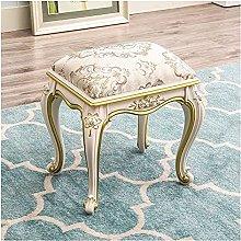 WEIJINGRIHUA Foot Stool,Small Sofa stool Vanity