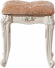 WEIJINGRIHUA Foot Stool,Small Sofa stool Velvet