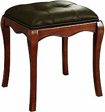 WEIJINGRIHUA Foot Stool,Small Sofa stool Vintage