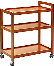WeiLuShop Utility Cart Storage Cart 3 Tier Rolling