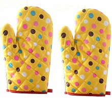 Weimay Cotton Oven Mitts Kitchen Baking Gloves