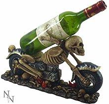 Weird Or Wonderful Wine Bottle Holder - Death Ride
