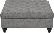 Weirton Footstool Ophelia & Co. Upholstery: Dark