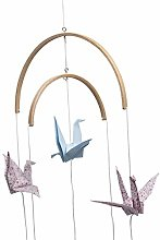 Weisin Baby Rattles Wooden Beads Wind Chimes Bell