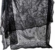 Weisin Fireplace Mantel Scarf Cover Spider Web