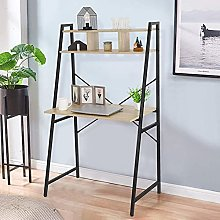 Weisong Computer Desk, 3 Tier Writing Study Table