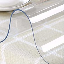 weiwei 1mm PVC transparent tablecloth waterproof