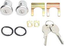 WeiYang Trunk Lock Set Door Lock Key Set Coded