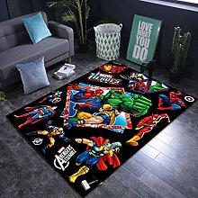 weiyibaobei Carpet Cartoon Superhero Man Pattern