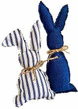 WEIZI Easter Bunny Figurine Decor Table Topper -