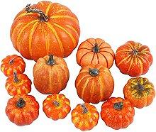 Weizige Pumpkin Assorted Fake Foam Pumpkin Fall