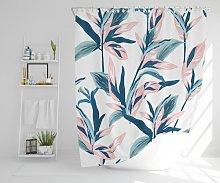 Welaka Polyester Shower Curtain Set Ebern Designs