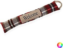 Welcome Alungit Textile Door Stop (7 x 15 x 83 cm)