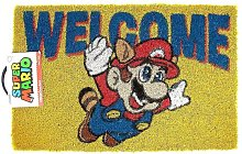 Welcome Door Mat (One Size) (Yellow/Red/Blue) -