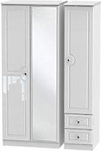 Welcome Furniture Balmoral Triple Mirror + Drawer