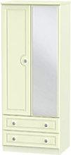 Welcome Furniture Pembroke 2ft6 2 Drawer Mirror