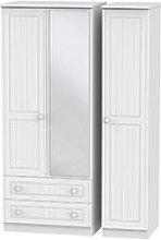 Welcome Furniture Warwick Triple 2 Drawer Mirror