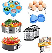 Weletric 9 Pcs Pressure Cooker Accessories Set