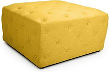 Wella Pouffe Rosalind Wheeler Upholstery Colour: