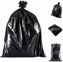 Wellpack Europe 20 Black Bin Bags Dustbin Liners