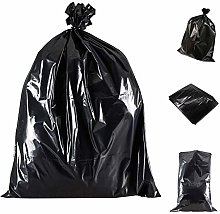 Wellpack Europe 5 Heavy Duty Black Bin Bags
