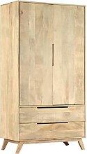 Wellsville 2 Door Wardrobe by Bloomsbury Market -