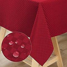 WELTRXE Rectangular Table Cloth,140x200cm,Water