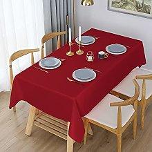 WELTRXE Rectangular Table Cloth,140x300cm,Water