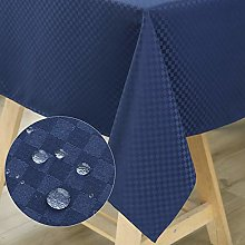 WELTRXE Rectangular Tablecloth Water Resistant