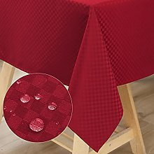 WELTRXE Square Table Cloth,140*140cm,Water