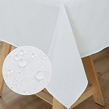 WELTRXE Square Tablecloth Water Resistant