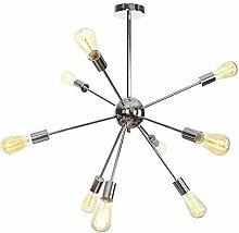 WEM 9 Lights Sputnik Chandelier Contemporary,E27