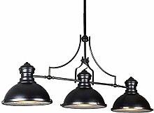 WEM Chandelier,Industrial Vintage Linear