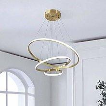 WEM Chandelier,Led 3 Rings Chandelier Lighting