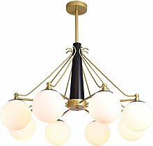 WEM Chandeliers,Magic Bean Frosted Glass Ceiling