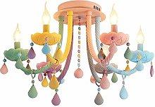 WEM Colorful Glass Chandelier Pendant Light 6