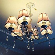 WEM Crystal Raindrop Candle Chandeliers Lighting