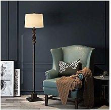 WEM Floor Lamp American Retro Led Bedroom Living