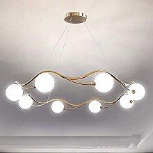 WEM G9 Modern Led Chandelier Lighting,Rings with 6