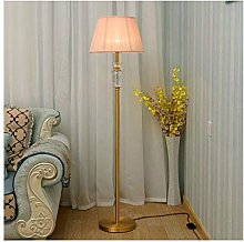 WEM Household Floor Lamps European Style Crystal