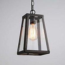 WEM Lighting Antique Black Finish Hanging Lantern