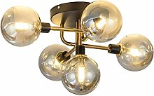WEM Mid Century Modern Chandelier Lighting Glass