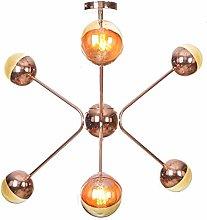 WEM Mid Century Sputnik 6 Light Chandelier G4