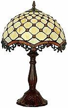 WEM Mini Style Bedroom Table Lamp, Yellow Glass