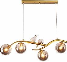 WEM Modern Led Sputnik Chandelier Adjustable