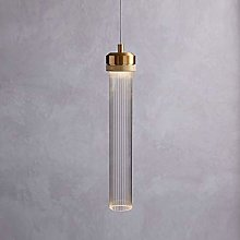 WEM Nordic Led Ceiling Pendant Light, Clear Glass