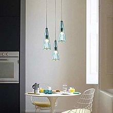 WEM Novelty Chandeliers, Blue/Beige Modern Simple