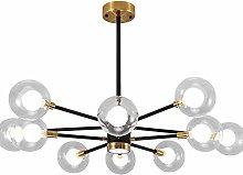WEM Sputnik Chandelier,Mid Century 6 Lights Modern