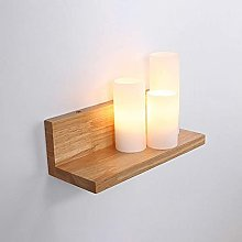 WEM Wall Lamps,Modern Wood Wall Sconce Lamp Indoor