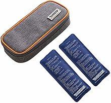 Wencaimd Insulin Cool Bag Diabetic Organizer